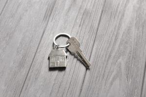 家のキーホルダー
