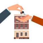 家と鍵イメージ