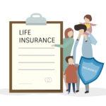 家族と保険イメージ